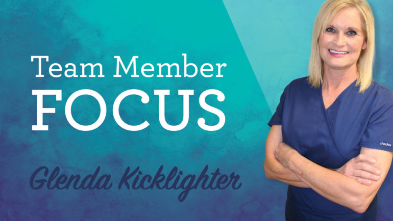 Team Member Focus: Glenda Kicklighter
