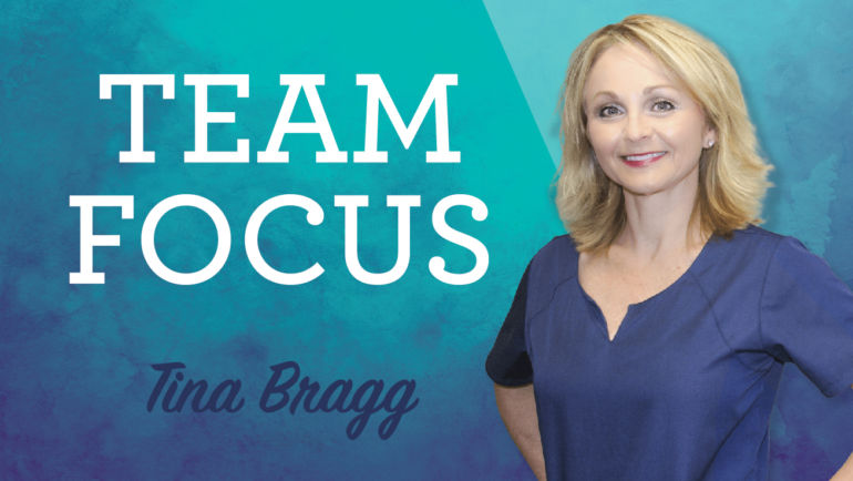 Team Focus: Tina Bragg