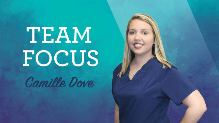 Team Focus: Camille Dove