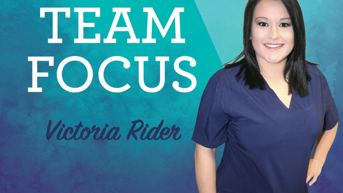 Meet Victoria Rider – Team Focus