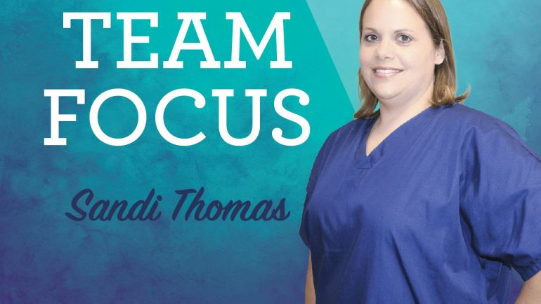 Team Focus – Meet Sandi Thomas