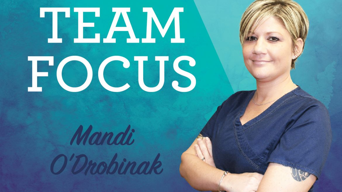 Team Focus: Mandi O'Drobinak