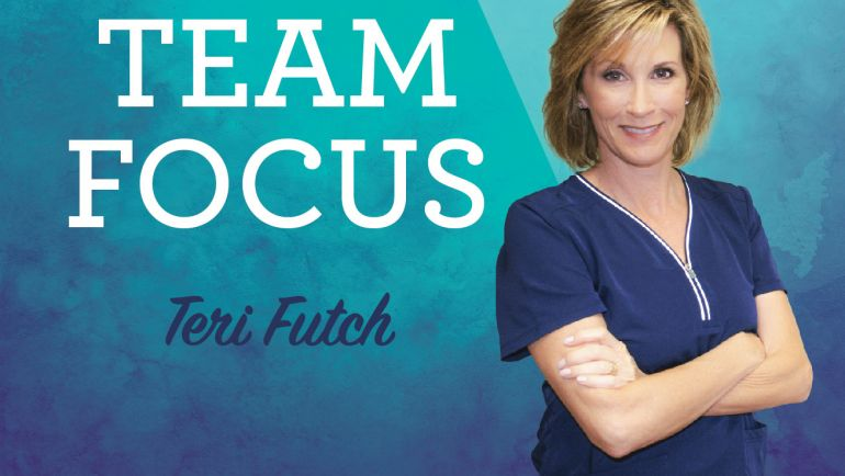 Meet Teri Futch – Team Focus