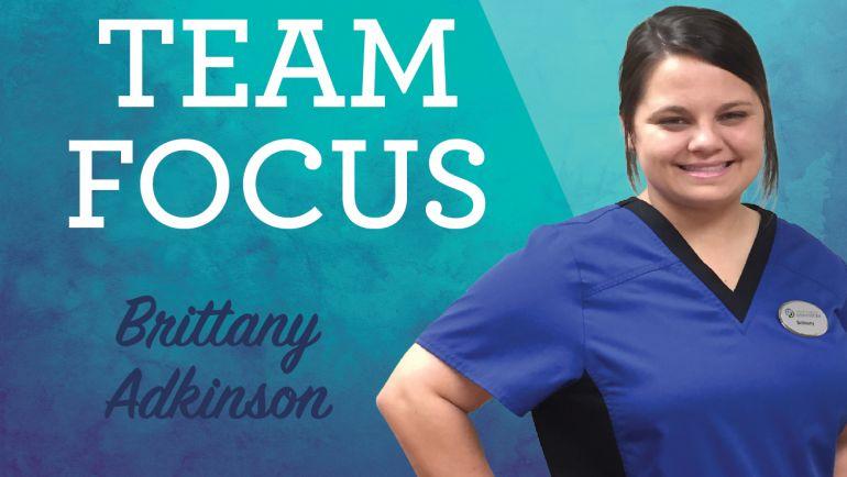 Team Focus: Brittany Adkinson