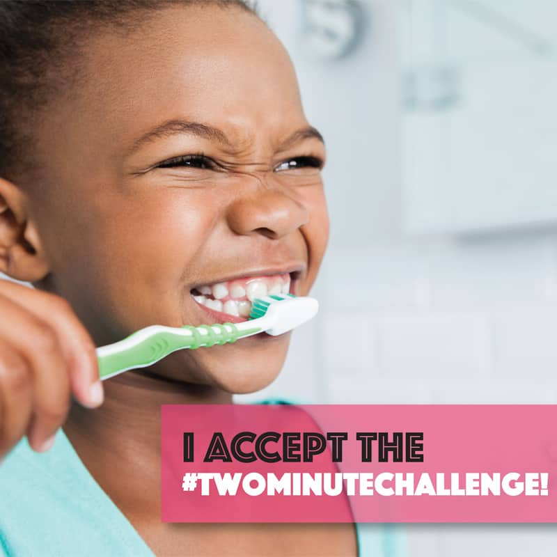 Enter the #twominutechallenge!